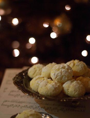 Lemon Crinckle Cookies I biscotti al limone