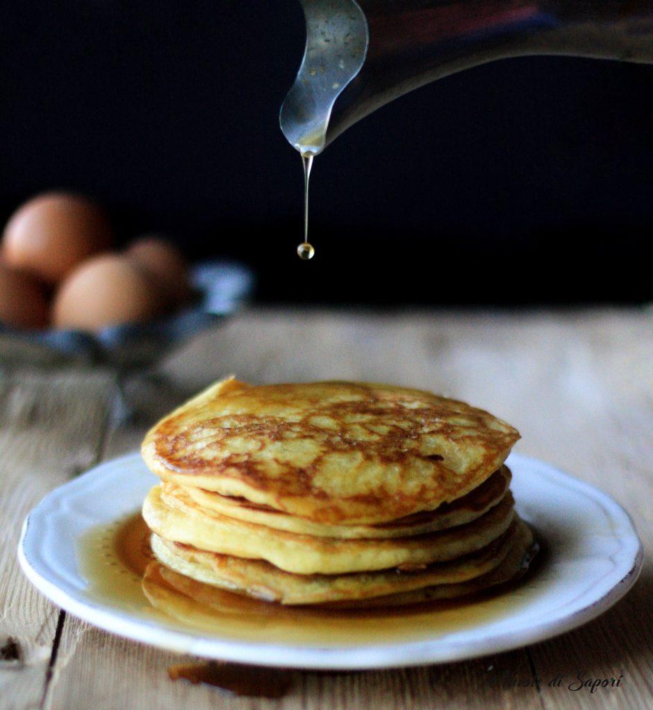 Pancakes Le Frittelle Tipiche Americane Per La Prima Colazione