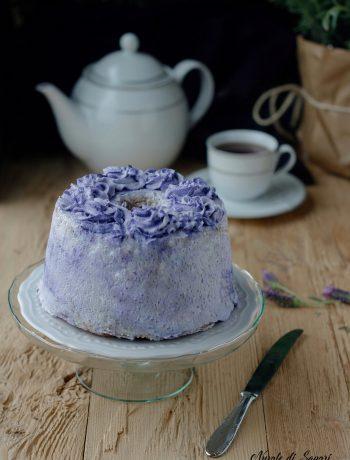 fluffosa chiffon cake marmorizzata