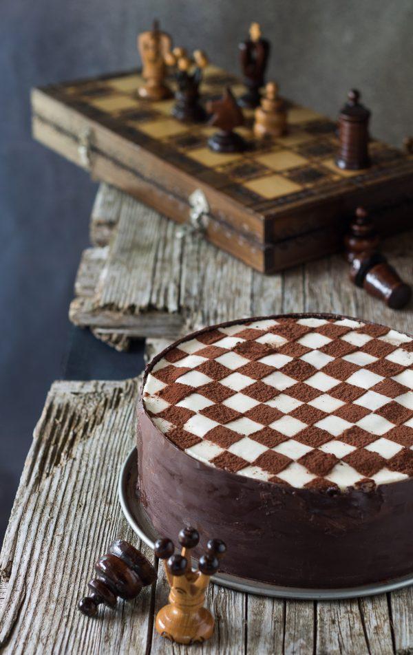 torta scacchi oreo