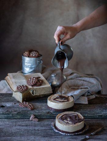 bavarese cioccolato al latte e pandistelle