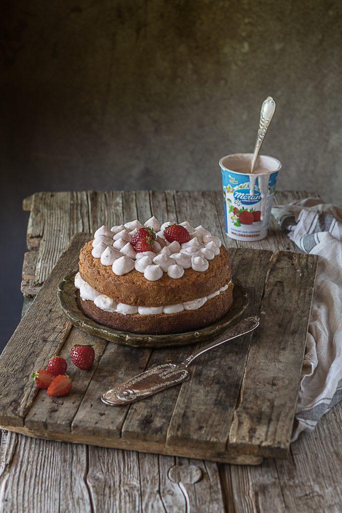 torta paradiso mousse yogurt