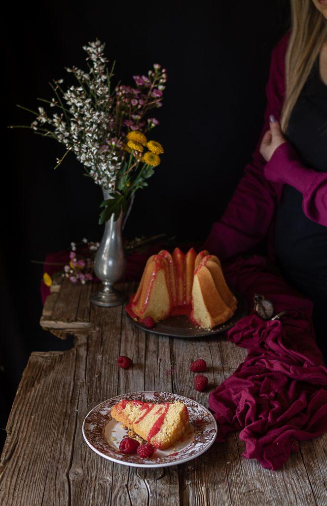 bundt cake nordic ware cocco e limone