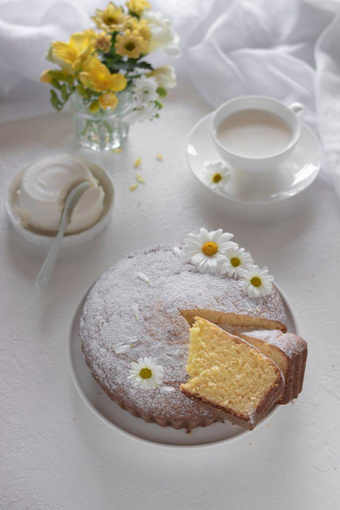torta soffice ricotta