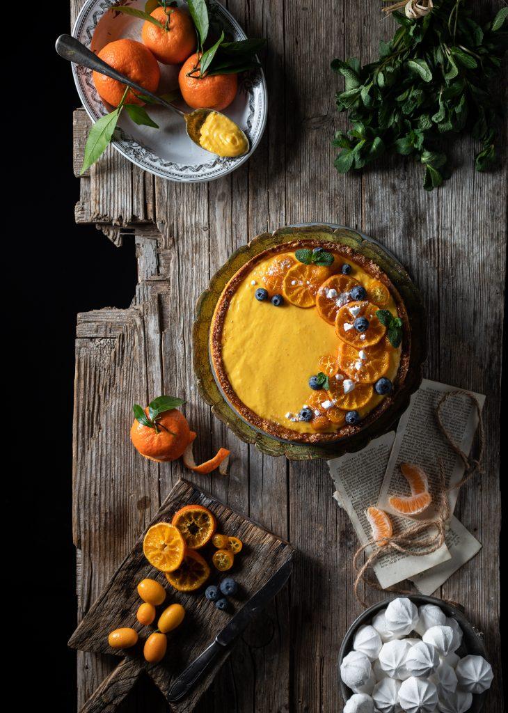 crostata crema mandarino