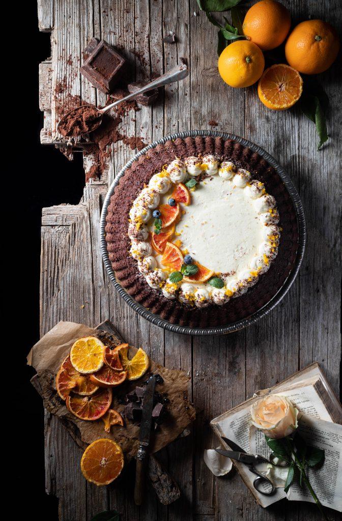 crostata morbida cacao