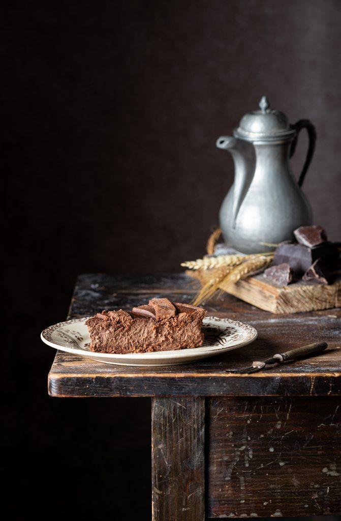 crostata pastiera cioccolato